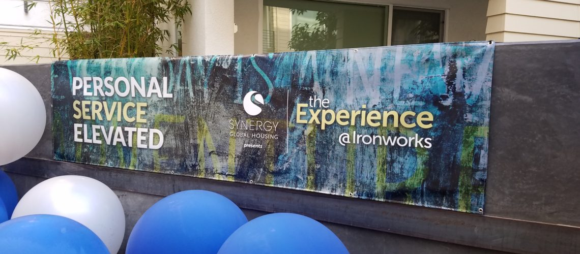 The Experience @Ironworks, Launch Party, Synergy Global Housing