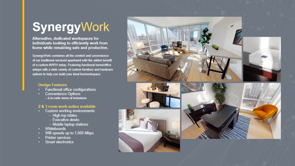Photo of the SynergyWork product.